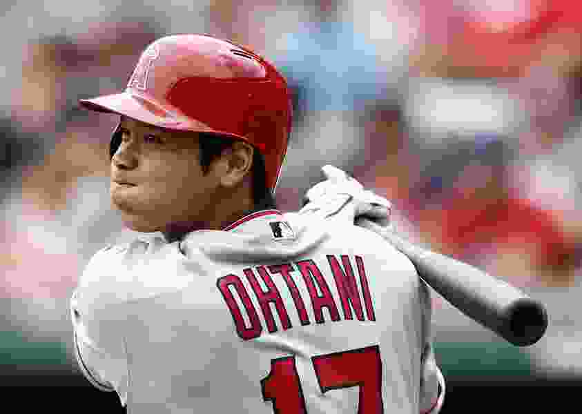 After Tommy John surgery is recommended, Angels' Ohtani has big night at the plate