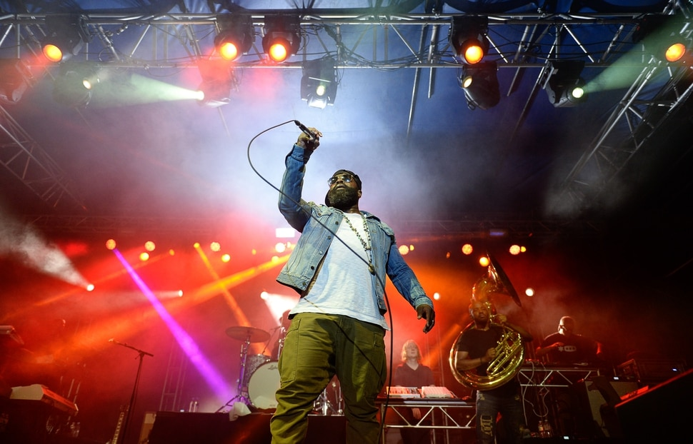 (Francisco Kjolseth | The Salt Lake Tribune) The Roots marks the finale of the 2017 SLC Twilight Concert Series at Pioneer Park on Thursday, Aug. 31, 2017.