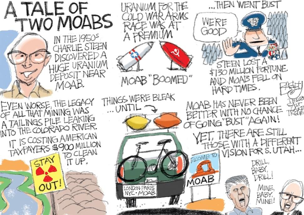 (Pat Bagley | The Salt Lake Tribune) This Pat Bagley cartoon appears in The Salt Lake Tribune on Sunday, March 18, 2018.