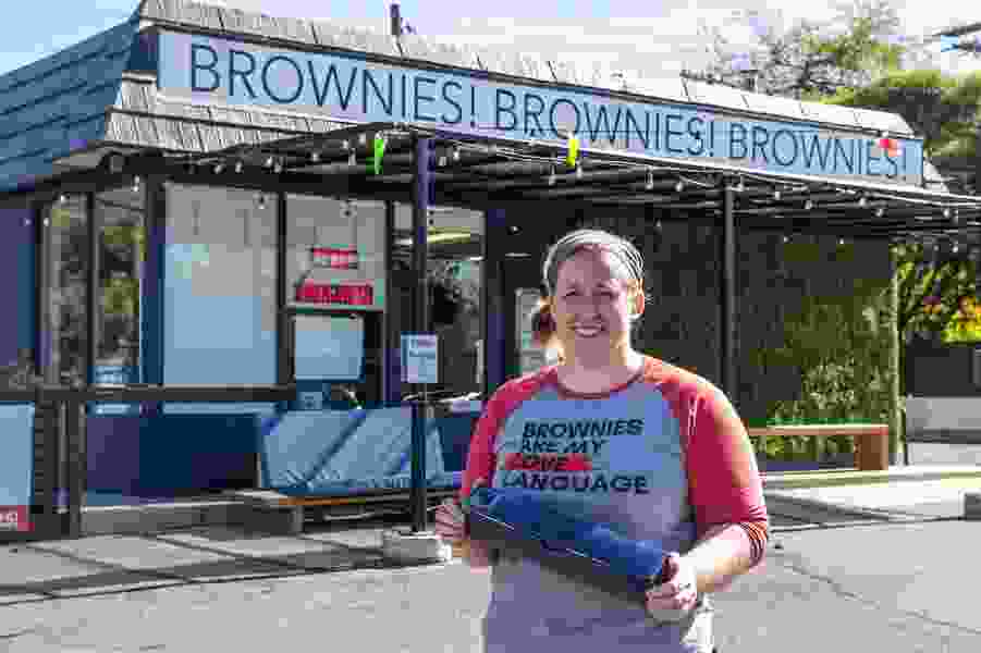 Owner of Salt Lake City brownie bakery honored for helping other small businesses