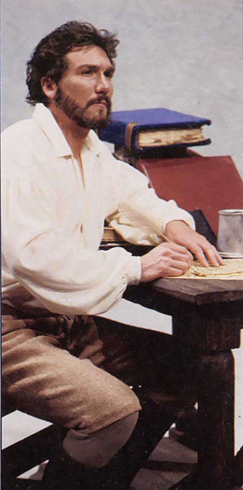 Patrick Page portrayed Shakespeare's rival Ben Jonson in the Utah Shakespeare Festival's 1989 production of the one-man play