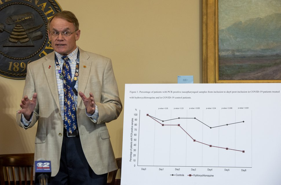 (Rick Egan | Tribune file photo) Dr. Marc E. Babitz in a news conference at the Utah State Capitol, Friday, March 20, 2020.