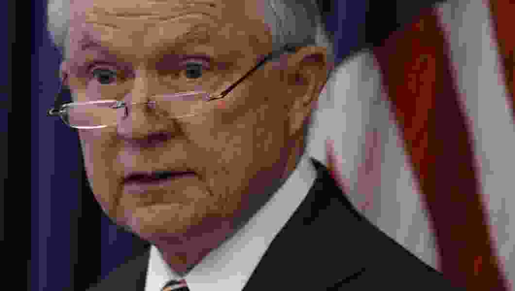 Political Cornflakes: For U.S. Attorney General Jeff Sessions, all signs point to the emergency exit