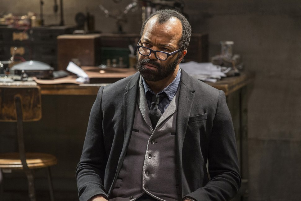 This image released by HBO shows Jeffrey Wright in a scene from,
