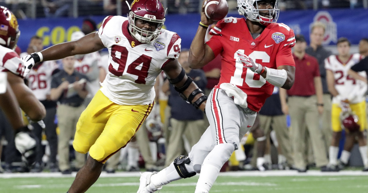 Playoff-snubbed Ohio State wins 24-7 over USC in Cotton Bowl
