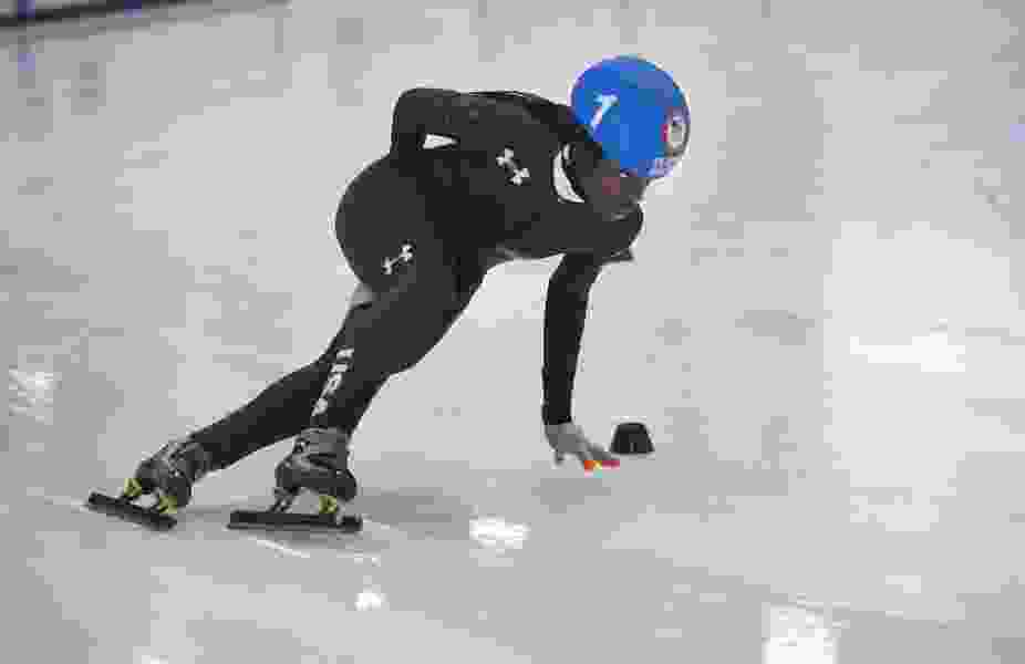 Olympic speedskater Maame Biney's Olympic journey takes her from Ghana to Pyeongchang — with an important stopover in Utah along the way
