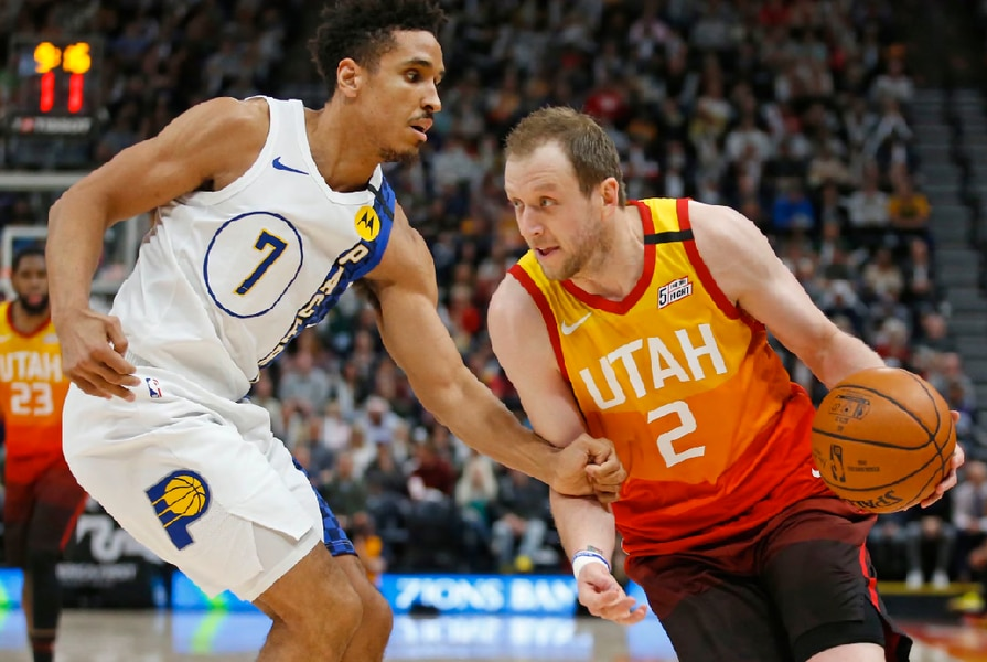 The Triple Team: Jazz beat good Pacers team soundly, thanks to smart play on both ends