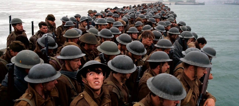 This image released by Warner Bros. Pictures shows a scene from Dunkirk. The Utah Film Critics Association named Christopher Nolan best director for his work on the film. (Warner Bros. Pictures via AP)