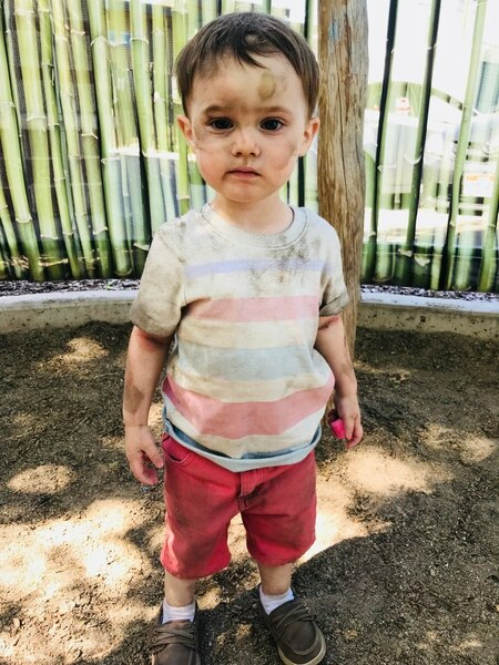 (photos courtesy of Marina Gomberg) Harvey Gomberg is turning 2 and that has led columnist Marina Gomberg to craft a list of six promises she's making to her son.