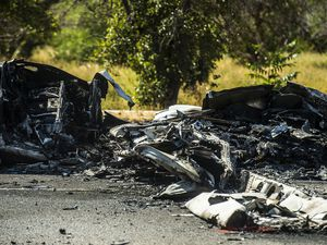 (Chris Detrick | Tribune file photo)  The scene of a plane crash at 1900 West and 4500 in Roy is photographed on Tuesday, September 12, 2017. Utah lawmakers this session approved a bill requiring general Utah aviation pilots with airplanes to carry at least $100,000 in liability insurance, the Standard Examiner reported.