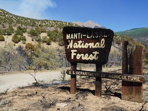 (Zak Podmore | The Salt Lake Tribune) The Pack Creek Fire started on June 9 from an unattended campfire and burned over 8,000 acres in the first week. June 14, 2021.