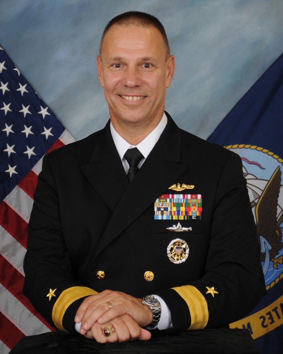 (Courtesy U.S. Navy) Rear Admiral Moises DelToro III