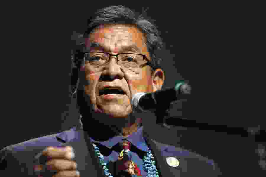 Navajo president approves drought declaration