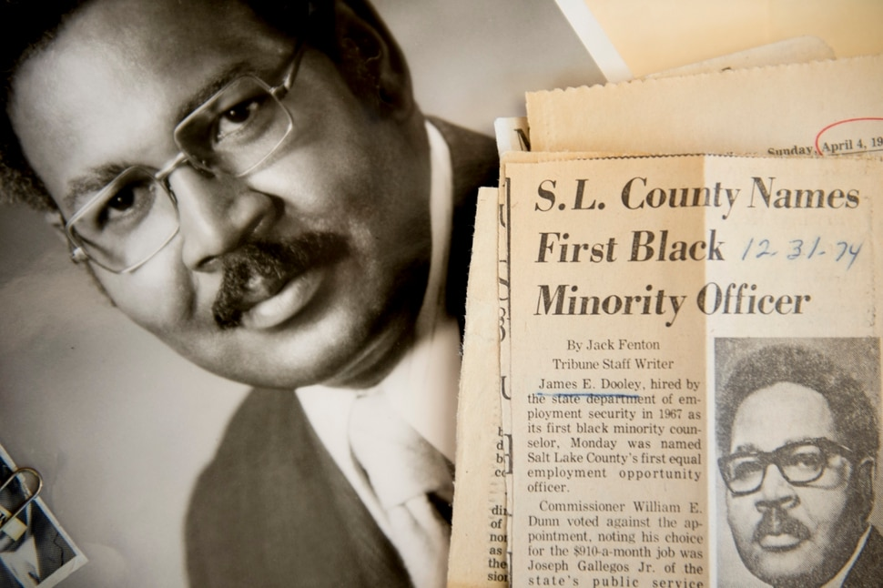 (Jeremy Harmon | The Salt Lake Tribune) James Dooley was president of the Salt Lake branch of the NAACP during the 1970s, a critical era when his organization was often at odds with The Church of Jesus Christ of Latter-day Saints because of the church's ban on black men holding the priesthood.