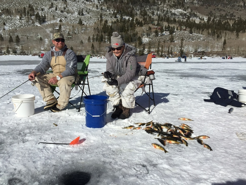 (Courtesy image | Utah Division of Wildlife Resources) The Fish Lake Perch Tournament, a popular event that started in 2015, won't happen this year. Unstable ice at the lake has forced the DWR to cancel the event.