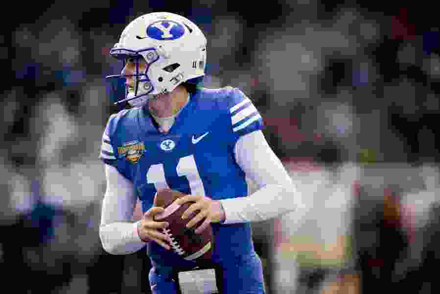 Eye On The Y: Coaches putting a positive spin on Zach Wilson's absence from spring practice after the QB's shoulder surgery