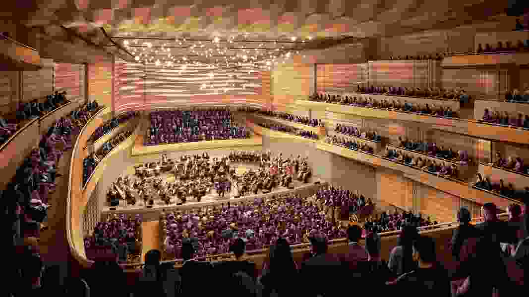 The old organ console for the New York Philharmonic ended up in Utah. Will another organ roar in the orchestra's new Geffen Hall?