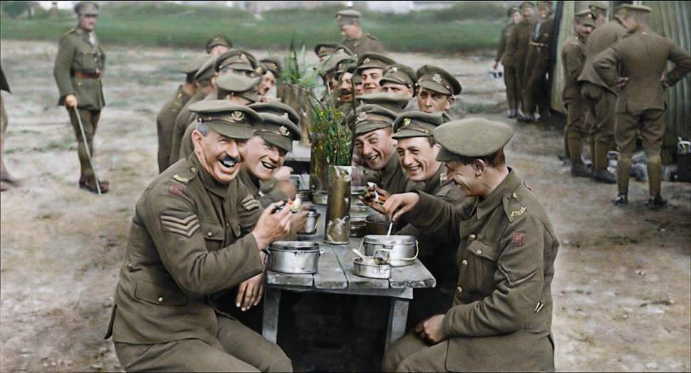 (Warner Bros. Entertainment via Associated Press) A scene from the World War I documentary