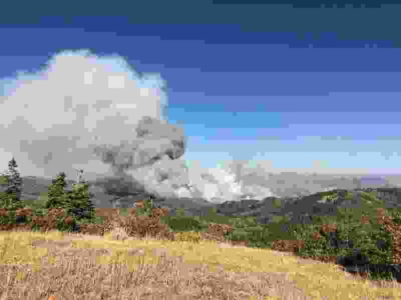 High winds bolster 20,000-acre Pole Creek Fire; communities evacuated, highways closed