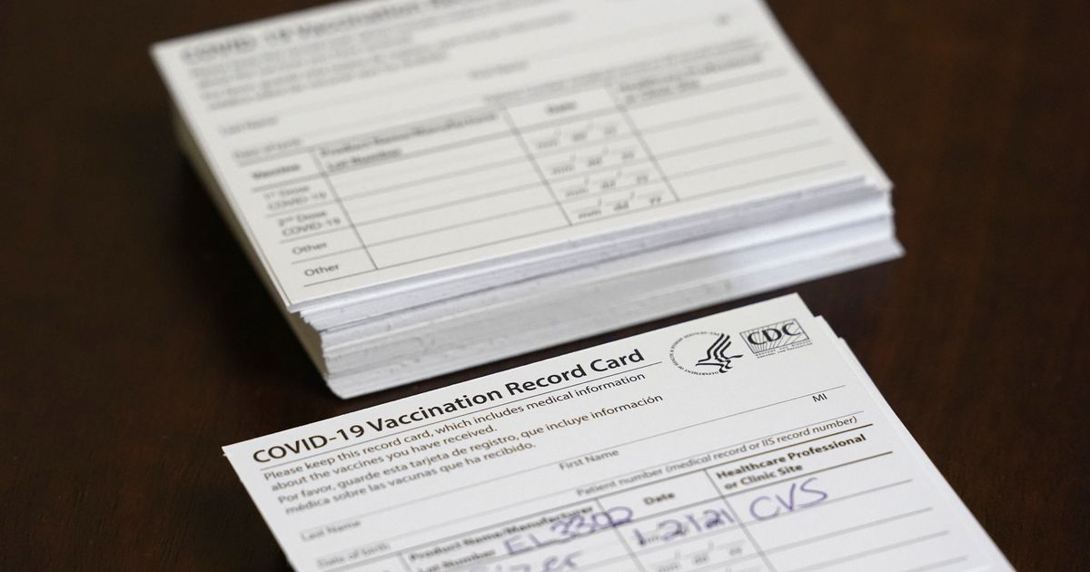 Utah pharmacist gave half a dozen people COVID-19 cards without giving them a shot