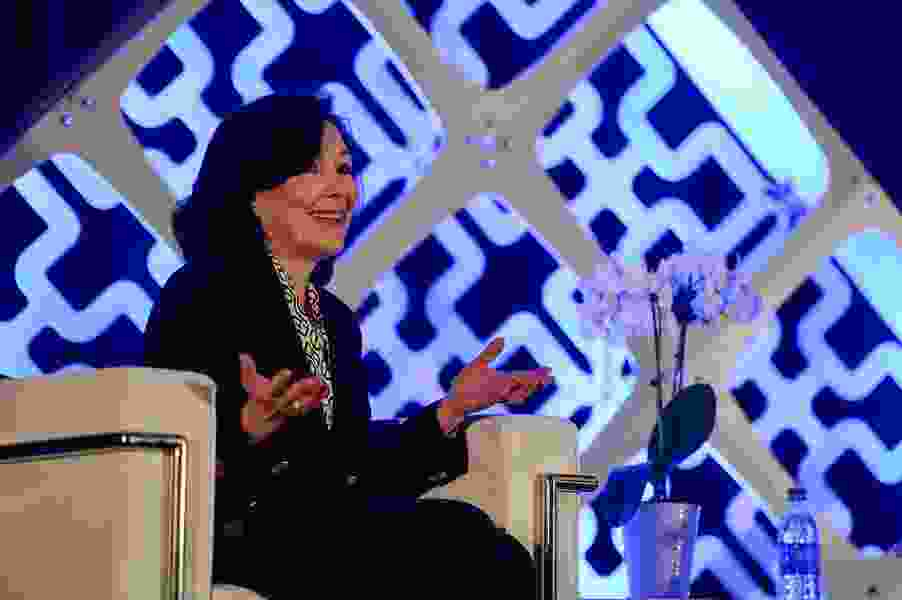 Be brave and 'go for it,' Oracle CEO Safra Catz tells Utah women in tech