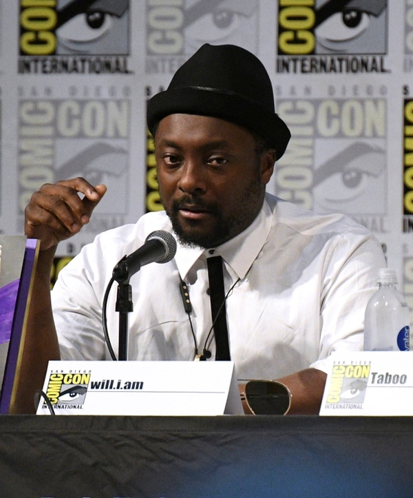 Will.i.am, of the Black Eyed Peas, speak at the