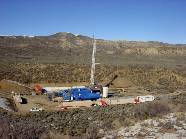 Utah regulators are seeking to plug several idled wells operated by Gordon Creek Energy in a gas field west of Price, pictured here in 2012. For the past few years, the company has not paid local property taxes and has ignored regulators requests to increase its bond and reclaim long-dormant wells. The Utah Board of Oil, Gas and Mining is weighing regulators' proposal Wednesday to forfeit Gorden Creek reclamation bond and use the money to plug the wells themselves, and shut-in the producing wells until the company has increased its bond. Photo courtesy of Gordon Creek Energy.