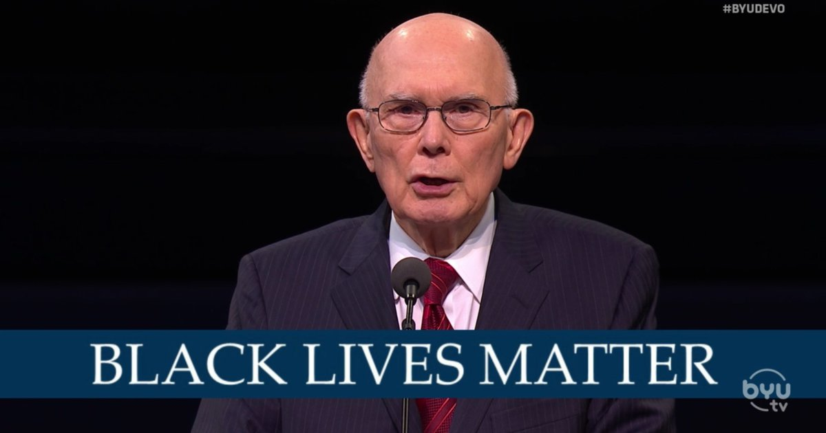 How Black Latter-day Saints reacted to Dallin Oaks' mention of Black lives matter