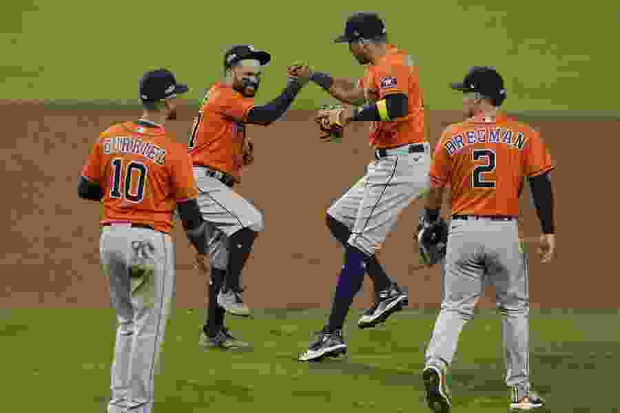 Astros top Rays 7-4, force ALCS Game 7