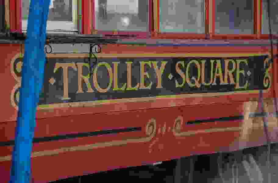 Cold beer and chicken wings return to historic streetcar at Trolley Square