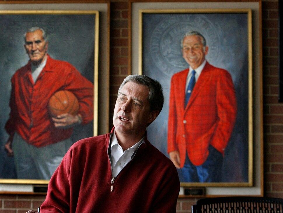 Tribune file photo. Utah athletic director Chris Hill