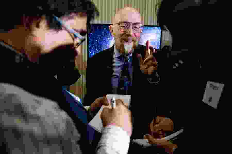 Utah-born Kip Thorne wins the Nobel Prize in physics for his role in detecting gravitational waves
