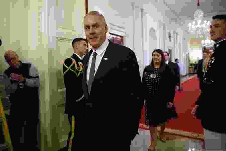 Zinke probes worry White House