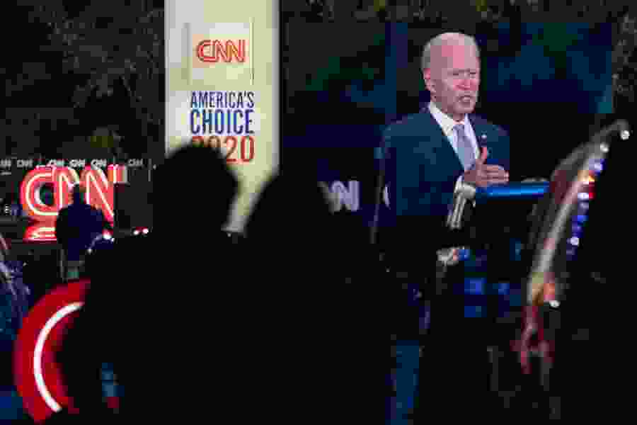 Michelle Goldberg: The Biden campaign is not out door-knocking. Don't freak out.