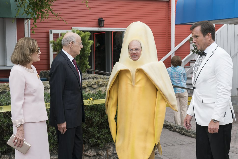 "(Photo: Saeed Adyani/Netflix) Jessica Walter, Jeffrey Tambor, David Cross and Will Arnett in ""Arrested Development."""