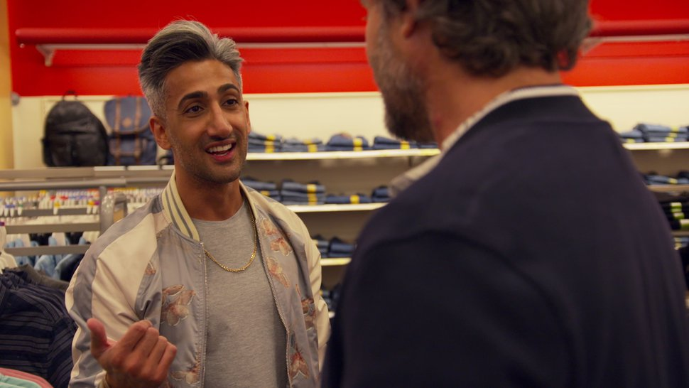 "(Photo courtesy of Netflix) Tan France in an episode of ""Queer Eye."""