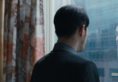 """(Photo courtesy of Slamdance Film Festival) Tender Huang plays a receptionist in a """"suicide hotel,"""" in the drama """"Taipei Suicide Story,"""" which won the Grand Jury Prize and Audience Award for narrative features at the 2021 Slamdance Film Festival. Huang also won the festival's Acting Award."""