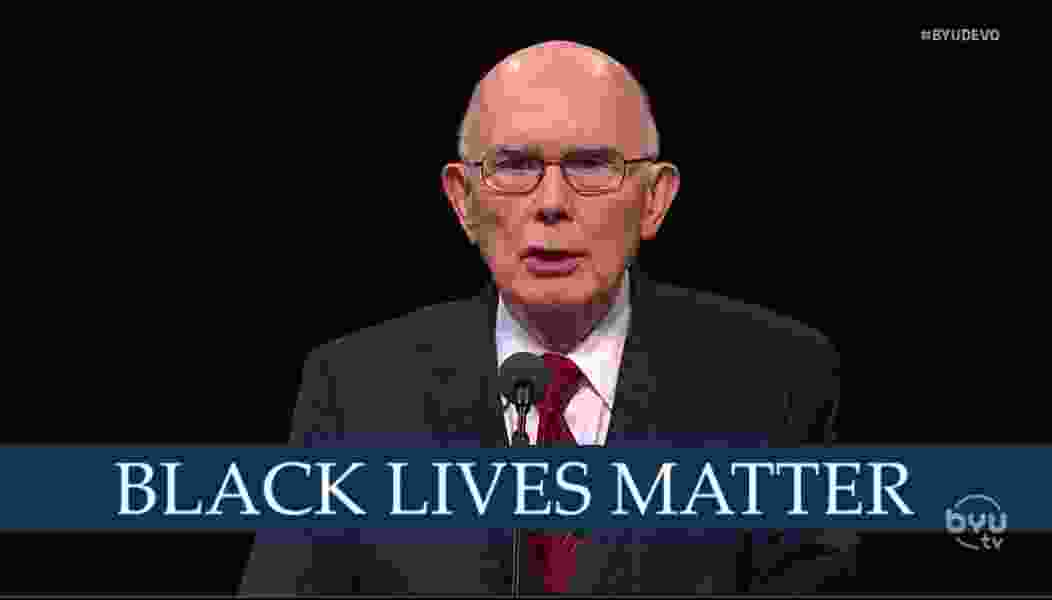 Commentary: How LDS apostle Dallin Oaks' comments on racism and Black Lives Matter fall short