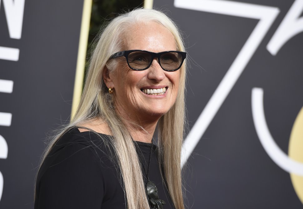 Jane Campion arrives at the 75th annual Golden Globe Awards at the Beverly Hilton Hotel on Sunday, Jan. 7, 2018, in Beverly Hills, Calif. Campion will serve on the World Cinema Dramatic jury for the 2019 Sundance Film Festival. (Photo by Jordan Strauss/Invision/AP)