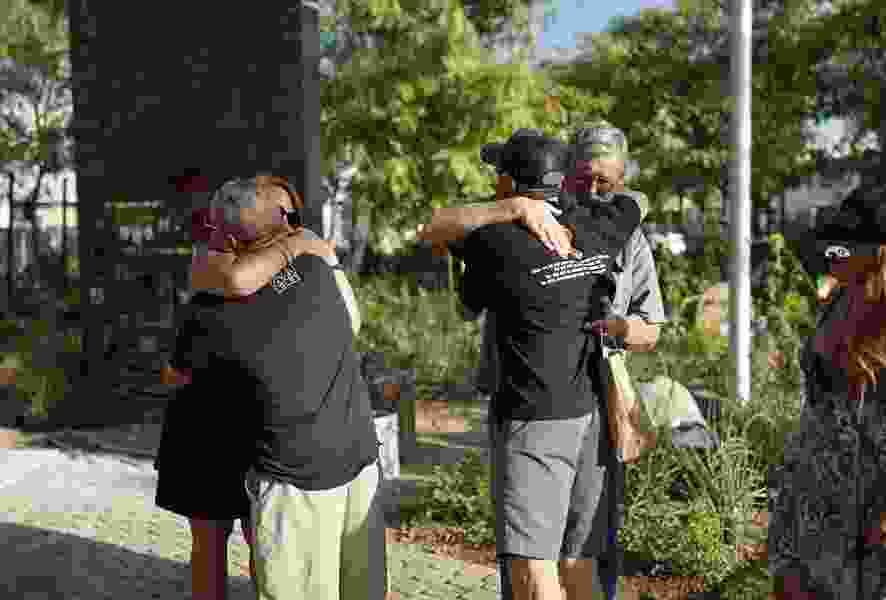 Vegas garden gives families, shooting victims place to mourn