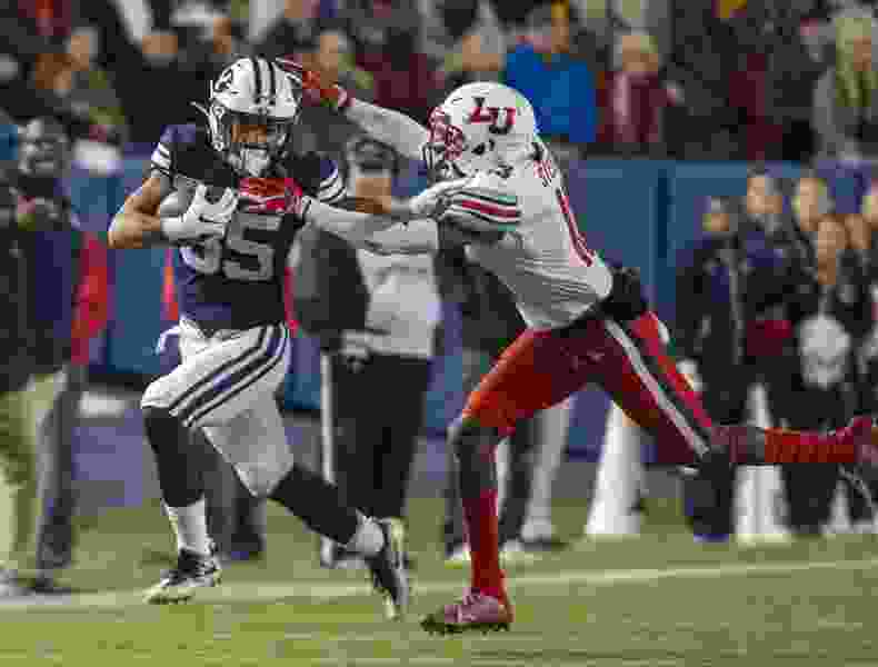 BYU in review: Cougars shared field — and prayer — with fellow independent, faith-based opponent Liberty