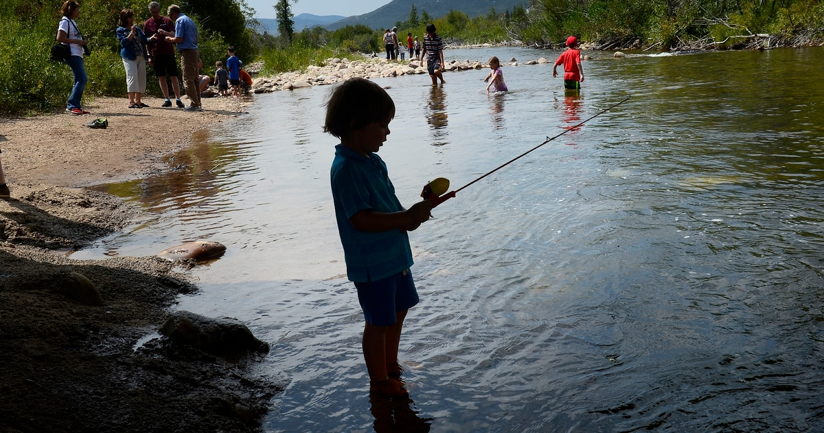 Anglers win access to stretch of weber river the salt for Weber river fishing report