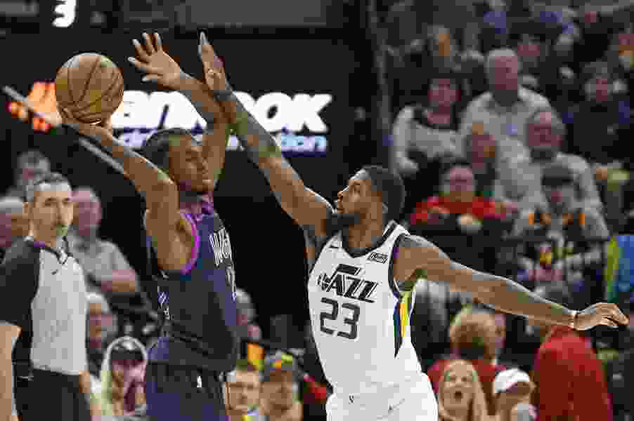 Late defense propels Jazz to 120-100 victory over Timberwolves