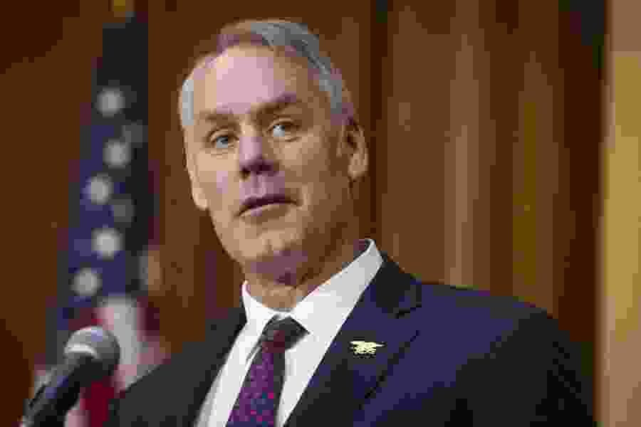 Justice investigating whether Zinke lied to inspector general, sources say