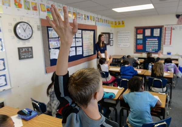 (Francisco Kjolseth | Tribune file photo) Students in a reading comprehension class at Lincoln Elementary in Salt Lake City. Administrators report an increasing trend of teachers being lured away by higher pay and better benefits.