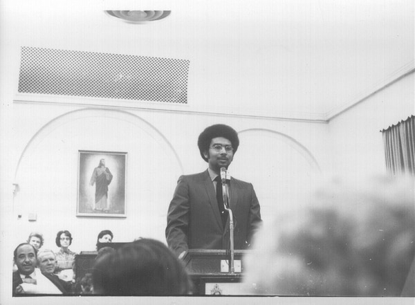 (Courtesy of Darius Gray) Darius Gray, a counselor in the presidency of the Genesis Group for black Mormons in the 1970s