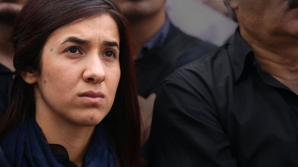 (Alexandria Bombach | courtesy Sundance Institute) Genocide survivor and human-rights activist Nadia Murad is profiled in director Alexandra Bombach's