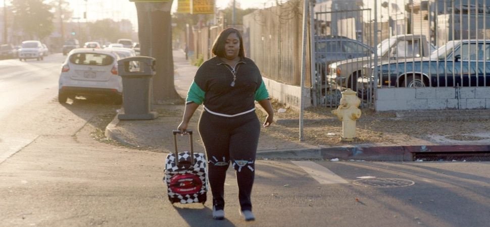 (Ante Cheng | courtesy of Sundance Institute) Raven Goodwin appears in Baldwin Beauty, directed by Thembi Banks, an official selection of the Shorts Programs at the 2020 Sundance Film Festival.