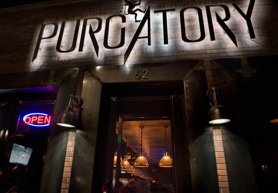 (Scott Sommerdorf | The Salt Lake Tribune) Purgatory Bar was opened by the folks who own Sapa Grill around the corner and its menu shows many Asian influences, from fried rice with Spam to a wrap made with chicken katsu.