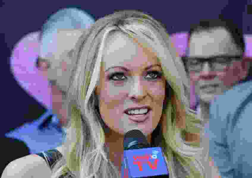 Lawyers want Stormy Daniels to pay Trump $340K in legal fees